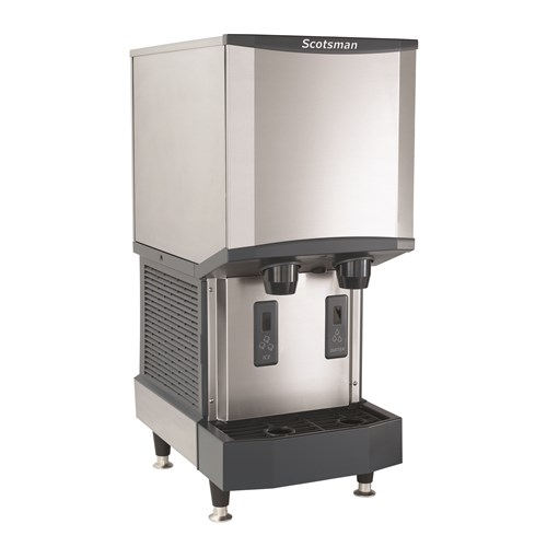 Water & Ice Dispenser - Air Cooled - 300LB 12LB 115/60/1 (Nugget Ice) picture